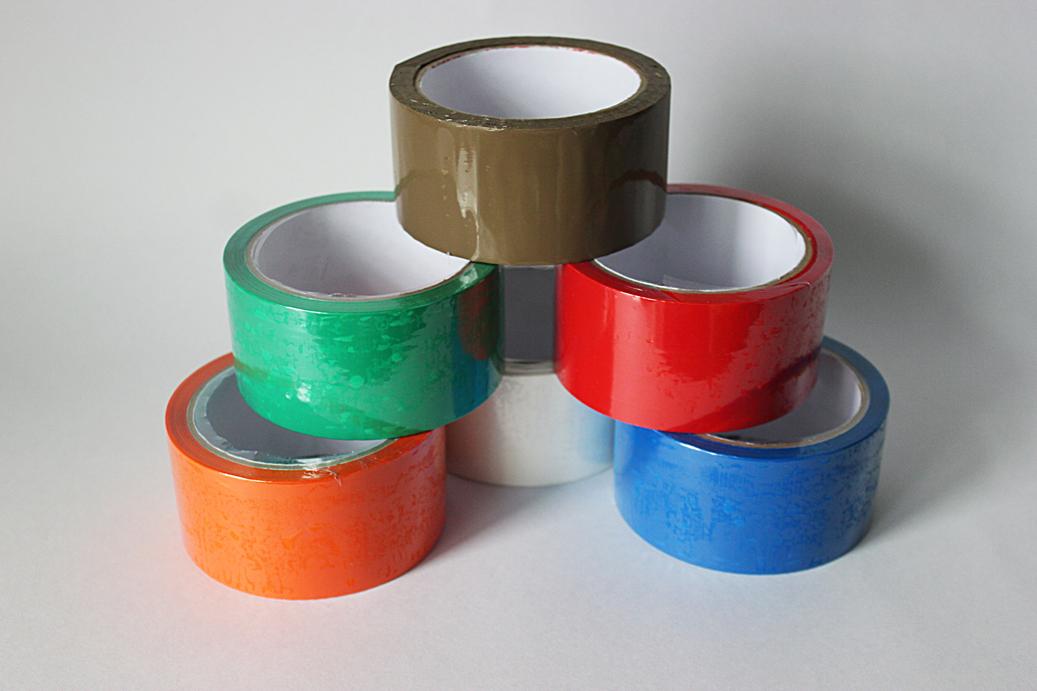 Скотч упаковочный цветной